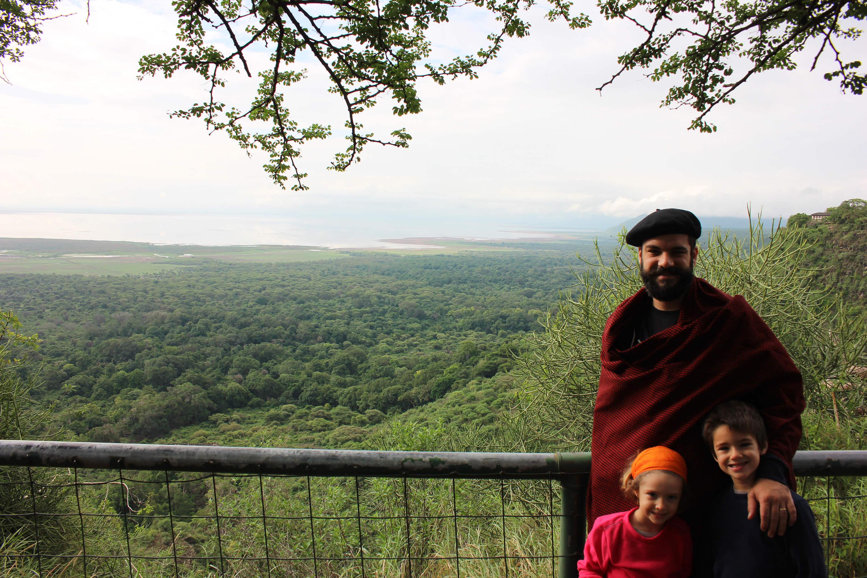 Paisaje Ngorongoro